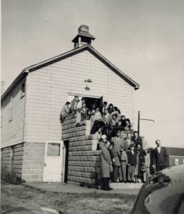 EHCBC July 1947 front steps